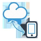 Mensagem na rede social icon