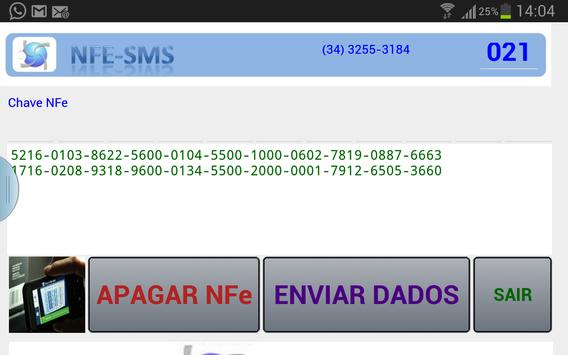 Captura/Envia NFe Emissão CTe screenshot 4