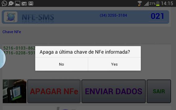Captura/Envia NFe Emissão CTe screenshot 3