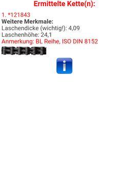 Kettenfinder apk screenshot