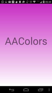 AAColors apk screenshot