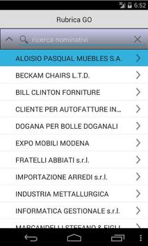 Rubrica GO screenshot 1