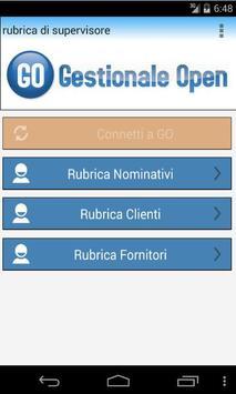 Rubrica GO screenshot 2