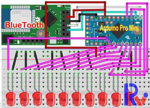 AndroiDuinoBT  藍芽手機情境燈控制 screenshot 1