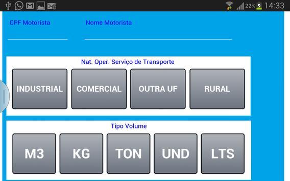 Envia Dados p/ Emissão de CTe screenshot 1