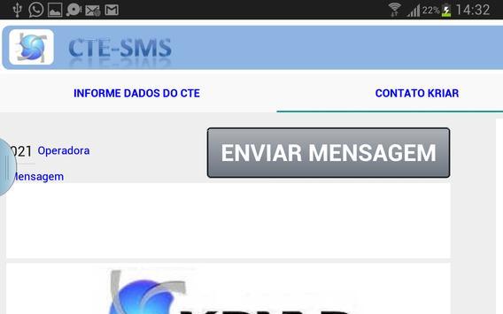 Envia Dados p/ Emissão de CTe screenshot 3