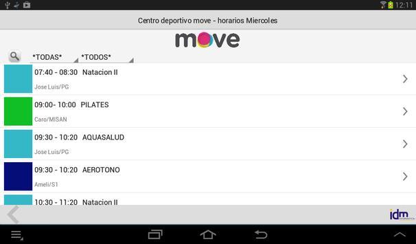 Centro deportivo move totana screenshot 7