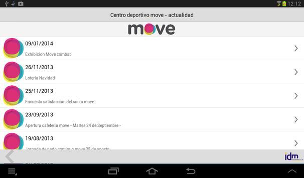 Centro deportivo move totana screenshot 4