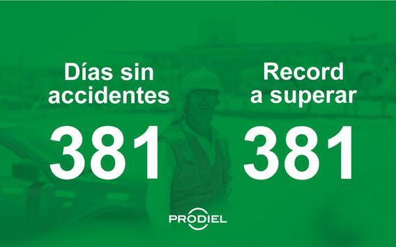 Días sin accidentes by Prodiel screenshot 1