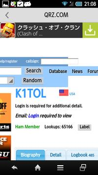 Droid DX Cluster for Ham Radio screenshot 4