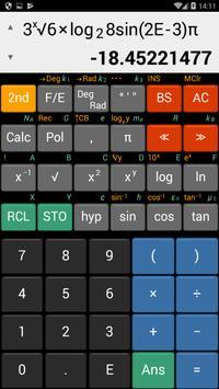 ES Calculator (Endo Scientific calculator) screenshot 1