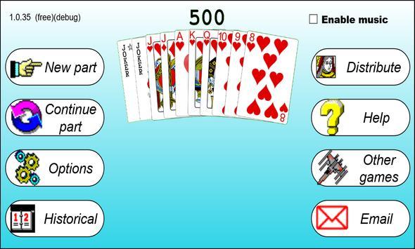 500 card game apk screenshot