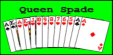 Queen  Spade
