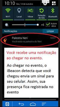Eventos com iBeacon prof Neri apk screenshot