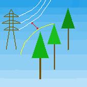 伐採時最接近距離計算 icon
