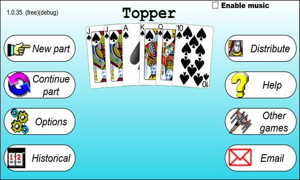 Topper apk screenshot