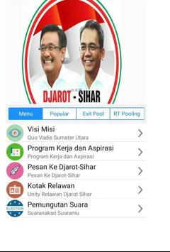 Djarot Sihar Djoss Sumut poster