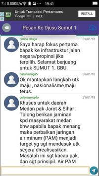 Djarot Sihar Djoss Sumut screenshot 3