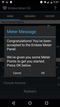 Embee Meter CX captura de pantalla de la apk