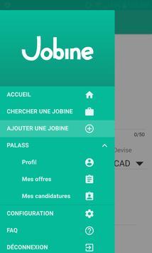 Jobine screenshot 2