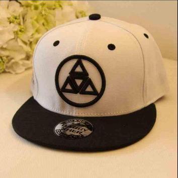 embroidery hat designs apk screenshot