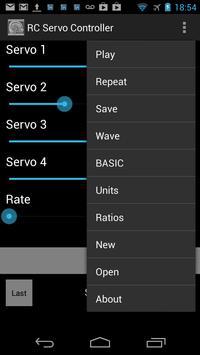 Quad RC Servo Controller screenshot 1