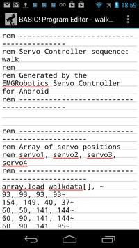 Quad RC Servo Controller screenshot 3