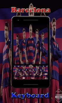 Barca Barcelona Keyboard screenshot 4