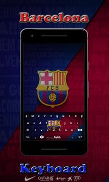Barca Barcelona Keyboard poster