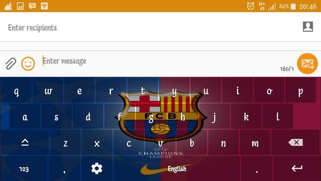 Barca Barcelona Keyboard screenshot 10