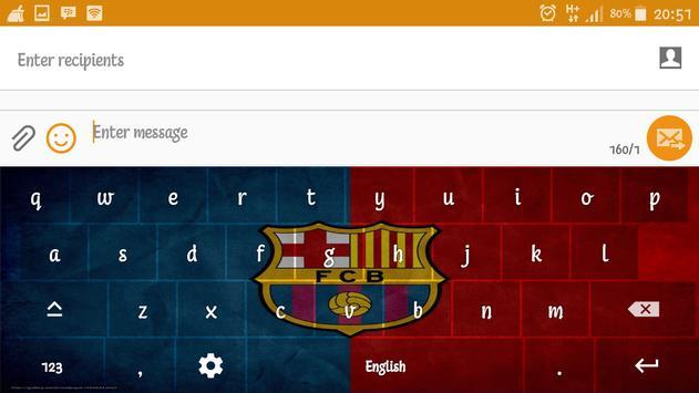 Barca Barcelona Keyboard screenshot 15