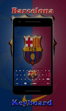 Barca Barcelona Keyboard screenshot 1