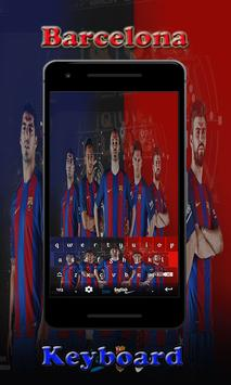 Barca Barcelona Keyboard screenshot 2
