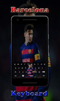 Barca Barcelona Keyboard screenshot 3