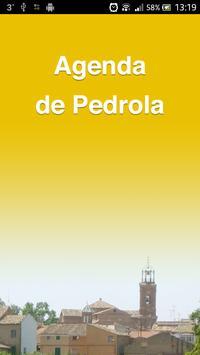 Agenda del Ayto. de Pedrola poster
