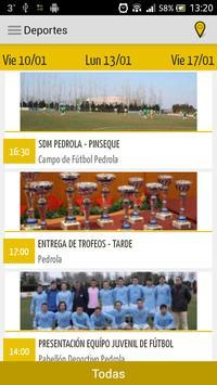 Agenda del Ayto. de Pedrola apk screenshot
