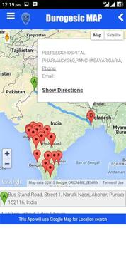 DUROGESIC MAP apk screenshot
