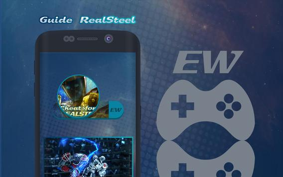 Cheats for Real Steel Wrb apk screenshot