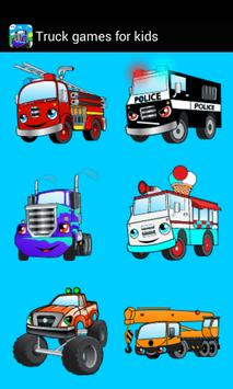Car truck games for kids free poster