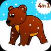 Kids ABC animal Zoo games 2 आइकन