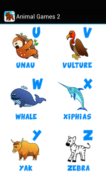 Kids ABC animal Zoo games 2 screenshot 10