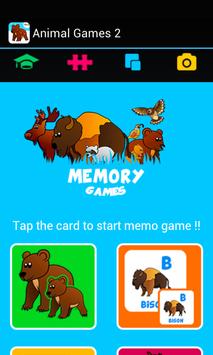 Kids ABC animal Zoo games 2 screenshot 14