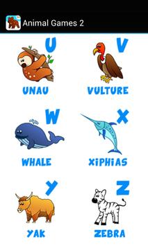 Kids ABC animal Zoo games 2 screenshot 18