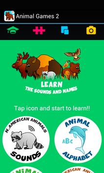 Kids ABC animal Zoo games 2 screenshot 1