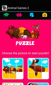 Kids ABC animal Zoo games 2 screenshot 20