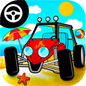 Speed buggy car games for kids icon