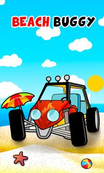 Speed buggy car games for kids poster