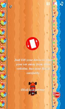 Speed buggy car games for kids apk screenshot