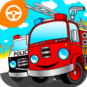 Cool Fire Truck-icoon