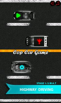 Cop car games for little kids screenshot 11